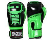 Ringside Boxing Apex Fitness Bag Gloves S M Green Black