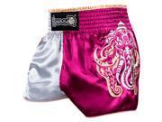 Hayabusa Wisdom Muay Thai Fight Shorts Small Pink