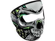 Zan Headgear Neoprene Full Mask - Lethal Threat Biohazard Skull 9SIA1TB19M8043