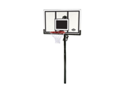 Lifetime 71525 In-Ground Basketball Hoop with 54 Shatter Guard Backboard