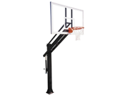 First Team Titan Arena In-Ground Basketball Hoop with 72 Inch Glass Backboard
