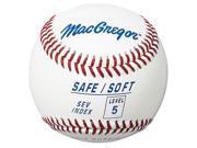 MacGregor Level 5 Safe/Soft Baseball - 1 Dozen