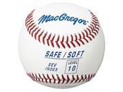 MacGregor Level 10 Safe/Soft Baseball - 1 Dozen