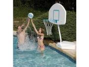 Dunnrite Junior Hoop Swimming Pool Basketball Hoop with Stainless Steel Rim