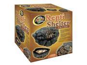 Repti Cave for Reptile Color Brown Size SMALL