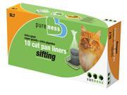 Van Ness Plastic Molding Pure-Ness Sifting Cat Pan Liners, 22X18 /10 Count - SL7