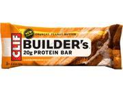 Clif Builders bar, crunchy pnt btr - 68g (12/box)