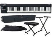 Roland A-88 88-key MIDI Keyboard Controller Package