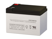 SigmasTek SLA/AGM Battery - Replaces Enersys NP12-12T
