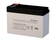 12V 7AH SLA Battery - Replaces Long Way LW-6FM7.2