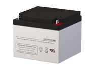 12V 26AH SLA Battery - Replaces Zeus Battery PC26-12NB