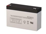 CP672 VRLA Battery - SigmasTek Brand Replacement