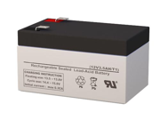 SigmasTek SLA/AGM Battery - Replaces Yuasa NP2.6-12