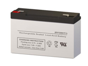 6V 12AH SLA Battery - Replaces Power Kingdom PS12-6