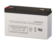 SigmasTek SLA/AGM Battery - Replaces CooPower CP6-10