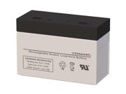 12V 6AH SLA Battery - Replaces CSB Battery HC1221W
