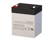 12V 5.5AH SLA Battery - Replaces Universal Power UB1250-F2 (D5777)