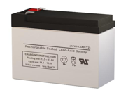 12CE10 VRLA Battery - SigmasTek Brand Replacement