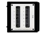 On-Q/Legrand Cat6 Network Interface Module, 12-Port (AC1015) 9SIA1TY0RT3206
