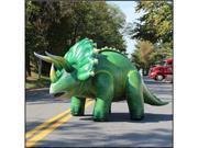 "120"" Inflatable Lifelike Triceratops"