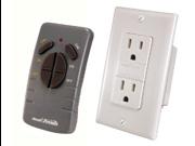Heath/Zenith WC-6020-WH Wireless Command Remote Control Receptacle Set, White