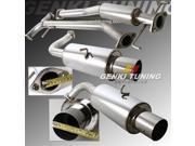 03-07 Mazda 6 V6 3.0L Dual Muffler Catback Exhaust System