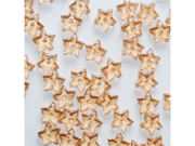 Acrylic Tiny Stars 1/2 Inch for Party or Craft Decorations 65 pieces - Color: Light Brown