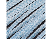Braided French Trim Ribbon 3/8 inch 25 yards Wedding Prom Party Decoration - Color: Blue
