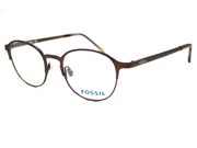 FOSSIL Eyeglasses SULLY 0P2X Brown 46MM