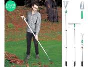 There's no denying that gardening is hard physical work. But it's pleasurable hard work, made all the easier by good-quality, appropriate tools. This 8-Piece garden tool set is specifically engineered