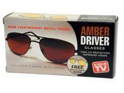 Amberdriver/Nightvision Sunglasses (2 Pairs)