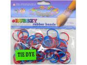Rubbzy 100 pc Special Edition Tie Dye/Glitter Rubber Bands (#050)