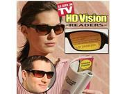 HD Vision Readers +2.0Sunglasses with bifocal magnifying band built in!HD Vision Readers are the optimal combination of reading lenses and UV protection for your eyes.