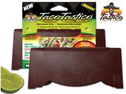 Taco TasticoA Taco Tastico® is a microwave taco shell form that utilizes no oil to make PERFECT crunchy taco shells every time.