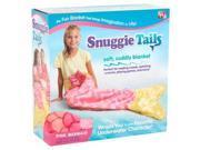 Snuggie Tails Black- Pink Mermaid
