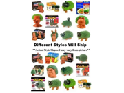 Chia Pet/Head-25th Anniversary Decorative Planter (Assorted Styles)