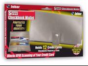 Stainless Steel Checkbook Wallet