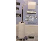 Chrome Free Standing Toilet Tissue Dispenser
