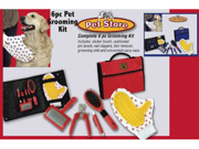 Pet Store Pet Grooming 6 Piece Kit (Red)
