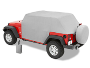 """Bestop All Weather Trail Cover Features: Protects Windshield And Interior  Protects From Harsh Effects Of Sun  Protects Interior From Wind And Rain  New Door Opening Protection Flaps  Adjustable Straps For Snug Tight Fit  Affordable Protections From The Elements  Includes Stuff Sack For Storage Height: 10.00"""" Width: 10.00"""" Length: 20.00"""" Weight: 10.00 lbs"""