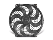 Flex-a-lite 392 Trimline S-Blade&#59; Electric Fan