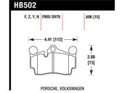 Hawk Performance HB502Z.606 Disc Brake Pad 9SIA8MF3VD6153