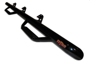 N-Fab D97100QC-6-TX Nerf Step Bar; Wheel To Wheel