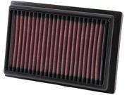 K&N Filters 33-2485 Air Filter 12-14 Prius C 9SIABXT5DN1498