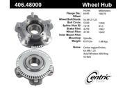 Centric 406.48000E Front Wheel Bearing And Hub Assembly