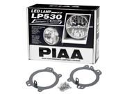 PIAA 5332 LP530 LED Driving Lamp Kit; White; 3.5 in.; Incl. Brackets; Wiring Harness; Hardware; Supersedes To PN[05332];