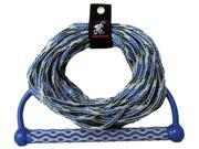 Kwik Tek  AHWR-3 Wakeboard Rope  15 Inch Eva Handle  3 Section