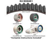 Dayco 95304K1 Engine Timing Belt Kit - Timing Belt Kit Without Seals