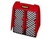 RADIATOR COVER BANSHEE RED