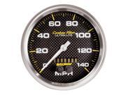 Auto Meter 4881 Carbon Fiber&#59; Speedometer
